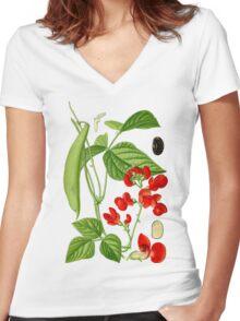 bean Women's Fitted V-Neck T-Shirt