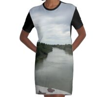 The Rio Grande  Graphic T-Shirt Dress
