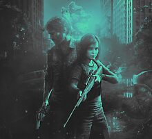 The Last Of Us Apparel, Phone, iPad & Poster Design by Benikari47