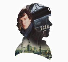 Sherlock Holmes Silhouette by Sam Richard Bentley