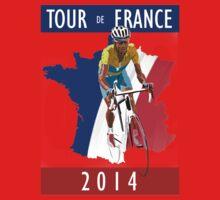 Le Tour 2014 Baby Tee