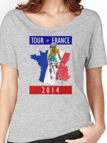 Le Tour 2014 Women's Relaxed Fit T-Shirt