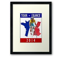 Le Tour 2014 Framed Print