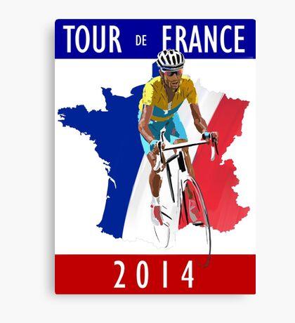Le Tour 2014 Canvas Print
