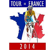 Le Tour 2014 Photographic Print