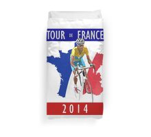Le Tour 2014 Duvet Cover
