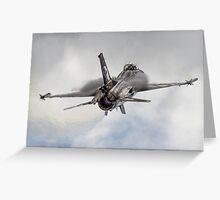 General Dynamics F-16 Fighting Falcon Greeting Card