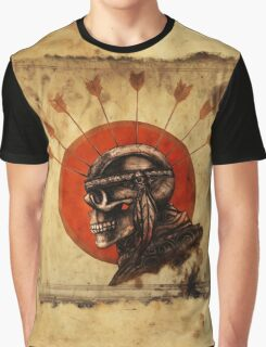 Indian Skull Graphic T-Shirt