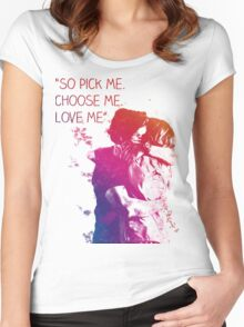 Grey's anatomy The house of candles Women's Fitted Scoop T-Shirt