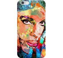 Colorful Portrait Grunge iPhone Case/Skin