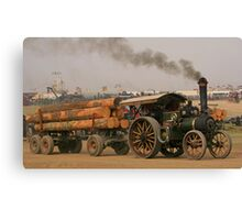 Burrell Log Hauling Canvas Print