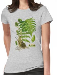 fern Womens Fitted T-Shirt