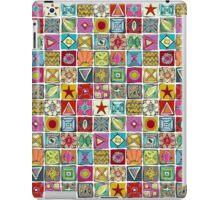 sketchy squares iPad Case/Skin