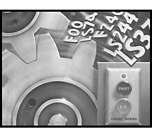 logic speed Photographic Print