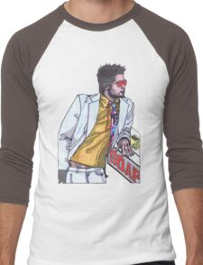 Fight Club #1 Selling Soap Men's Baseball ¾ T-Shirt