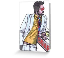 Fight Club #1 Selling Soap Greeting Card