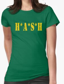 HASH Womens Fitted T-Shirt