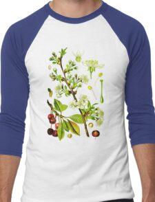 sour cherry Men's Baseball ¾ T-Shirt