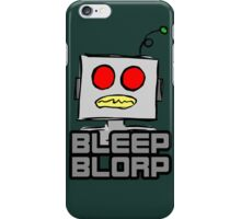 Robot Noises iPhone Case/Skin