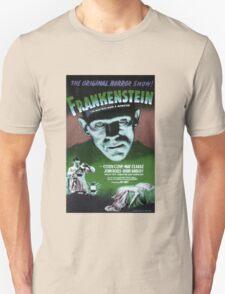 Frankenstein movie poster green Unisex T-Shirt