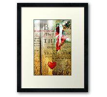 He calls me Beloved Framed Print