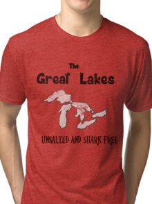Great Lakes Unsalted and Shark Free Tri-blend T-Shirt