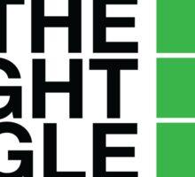 The Right Angle Sticker
