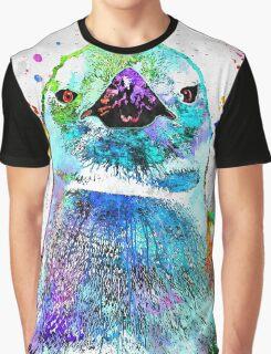 Penguin Grunge Graphic T-Shirt