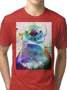Penguin Grunge Tri-blend T-Shirt
