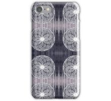 White Wire Circle Mix iPhone Case/Skin