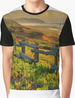Marin County Gold Graphic T-Shirt