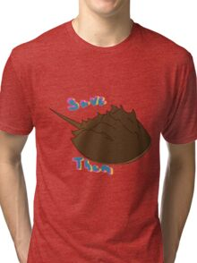 Save The Horseshoe Crabs Tri-blend T-Shirt