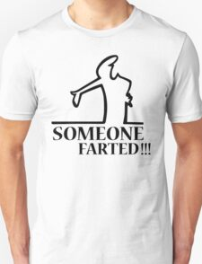 Funny Farting Cartoon Comic Humor Design  Unisex T-Shirt