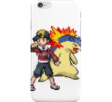 Gold and Typhlosion iPhone Case/Skin