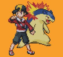 Gold and Typhlosion by GreenTheRival