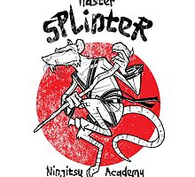 Master Splinter by Ninjae-Art