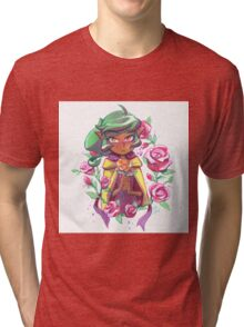 Harpy Gee, Gold Rose Tri-blend T-Shirt
