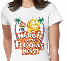 Maggie And The Ferocious Beast Womens Fitted T-Shirt
