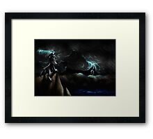 The Darker Days Framed Print