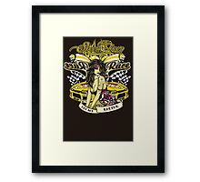 Speed Queen Framed Print