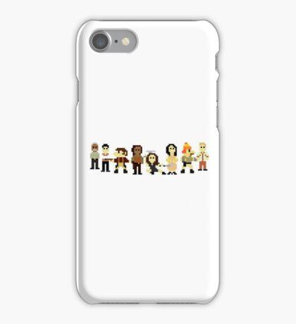 Firefly pixels iPhone Case/Skin