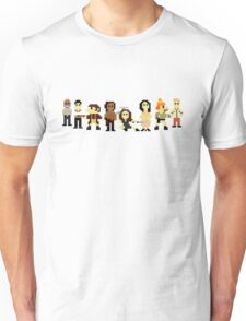 Firefly pixels Unisex T-Shirt