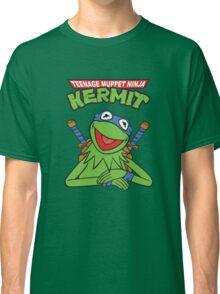Teenage Muppet Ninja Kermit Classic T-Shirt