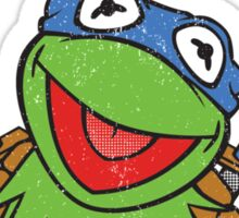 Teenage Muppet Ninja Kermit Sticker