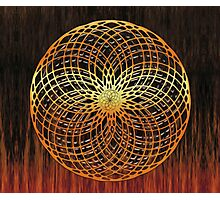 Color Wire Circle Mix Photographic Print