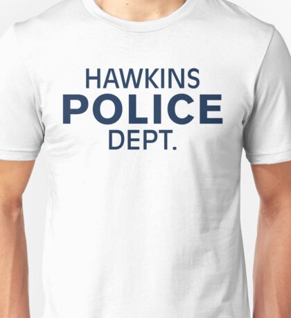 Hawkins Indiana Police Dept. T-Shirt