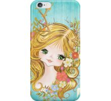 Lovely Lady Of The Woodlands iPhone Case/Skin