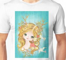 Lovely Lady Of The Woodlands Unisex T-Shirt