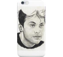 Matthew Daddario iPhone Case/Skin