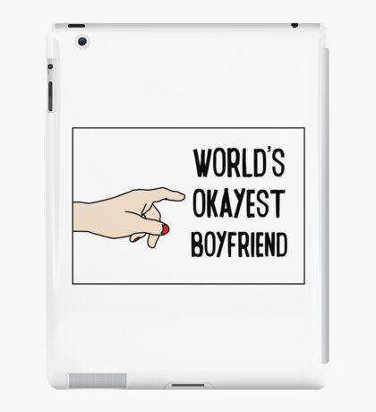 Cool Funny Gift Design For Best Okeyest Boyfriends iPad Case/Skin